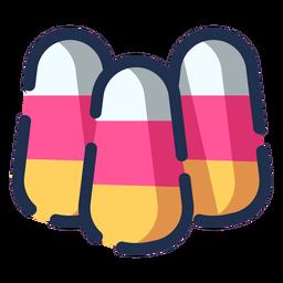 Ícone de doces de cor