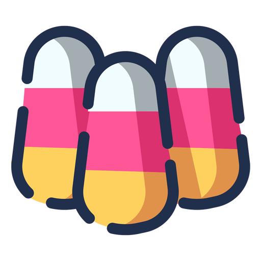 Color candies icon Transparent PNG
