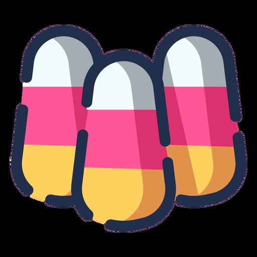 Icono de caramelos de color