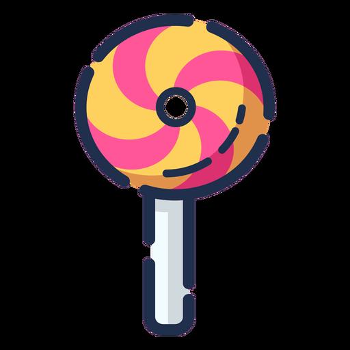 Color lollipop icon Transparent PNG