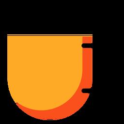 Icono de copa amarilla