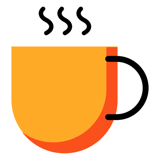 Cup yellow icon