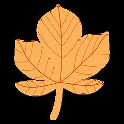 Bordo de outono plana