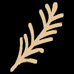 Imagem de trigo plana padaria
