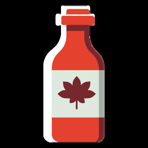 Flat canada bottle Transparent PNG