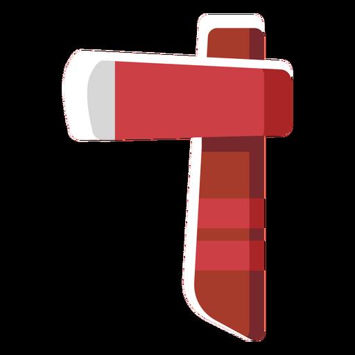 Machado de ícone plana Transparent PNG
