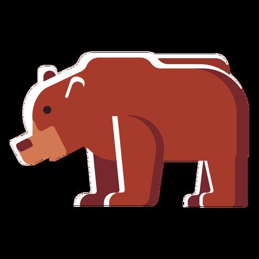 Flat icon bear