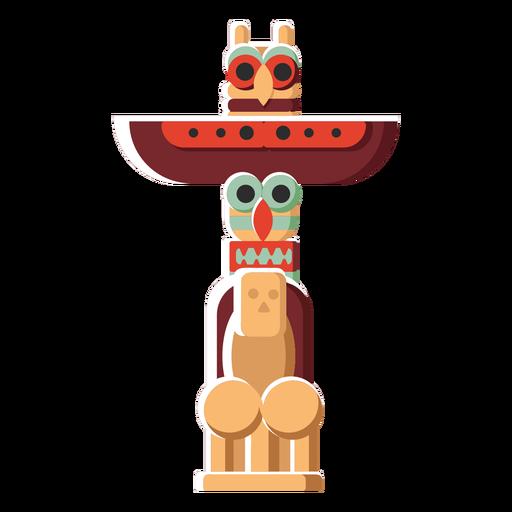 Flat icon totem Transparent PNG