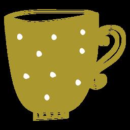 Flat mug