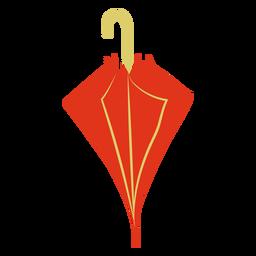 Guarda-chuva plana