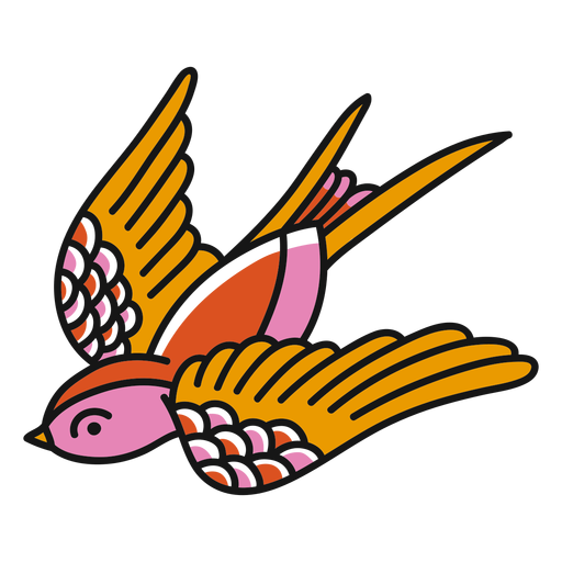 Fly birds oldschool stroke