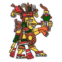 Deus asteca cor centeotl
