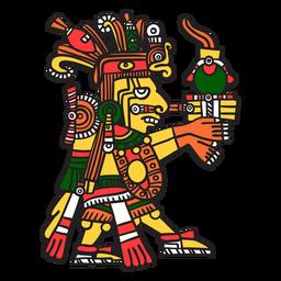 Dios azteca color centeotl