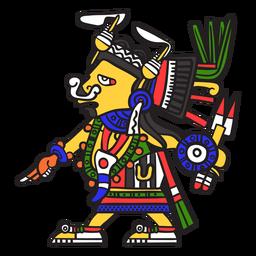Dios azteca color tlazolteotl