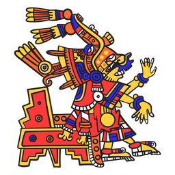 God aztec color xochiquetzal
