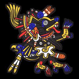 Dios azteca color xolotl