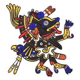 God aztec color xolotl