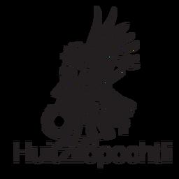 Deus asteca huitzilopochtli