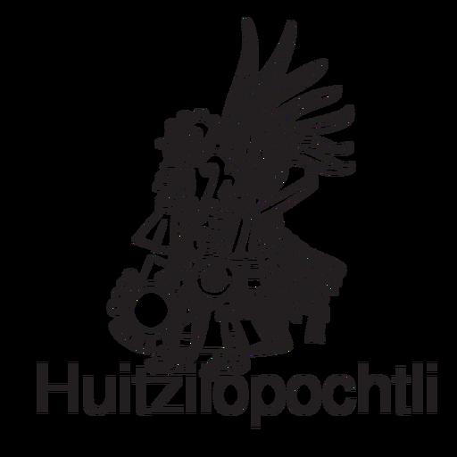 Dios azteca huitzilopochtli Transparent PNG
