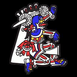 Deus asteca mictlantecuhtli