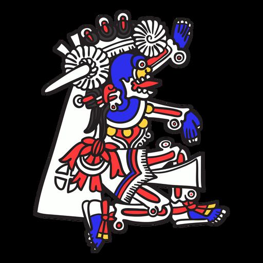 Dios azteca mictlantecuhtli Transparent PNG