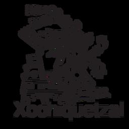 God aztec xochiquetzal