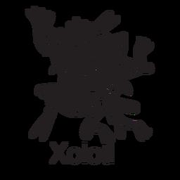 Dios azteca xolotl