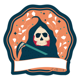 Halloween badge death