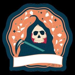 Insignia de Halloween muerte
