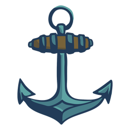 Hand drawn anchor