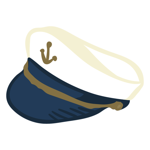 Hand drawn hat captains hat