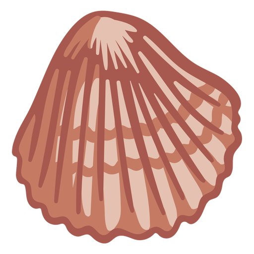 Hand drawn shell