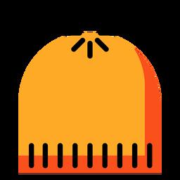 Icono de sombrero amarillo