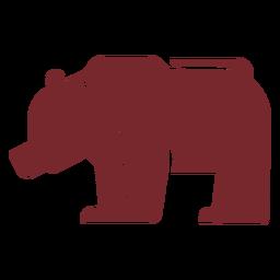 Urso de ícone
