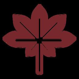 Bordo de Canadá do ícone