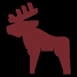 Veado de ícone