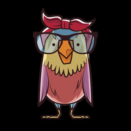 Nerd owl Transparent PNG