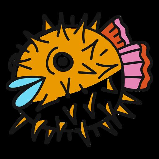 Oldschool peixe golpe Transparent PNG