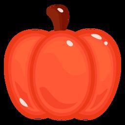 Outono de abóbora plana