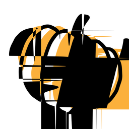 Pumpkin icon yellow