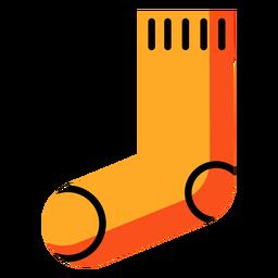 Icono de otoño de calcetín