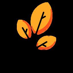 Stick autumn icon