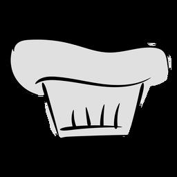 Gorro de cocinero de panadería Stroke
