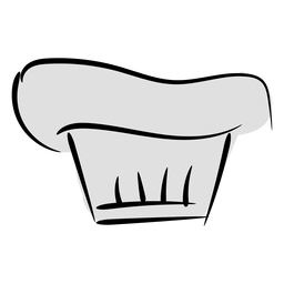 Stroke bakery cook hat