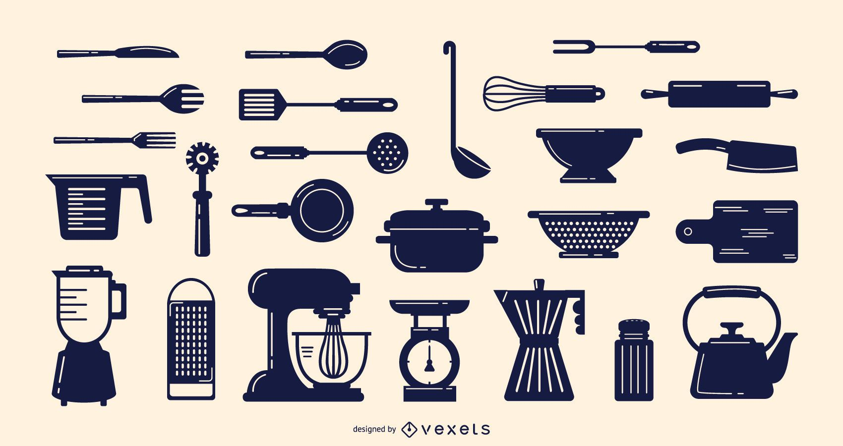 Cooking elements collection