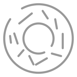 Stroke donut icon