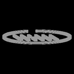 Stroke french bread icon