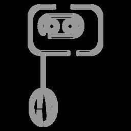 Stroke mixer icon