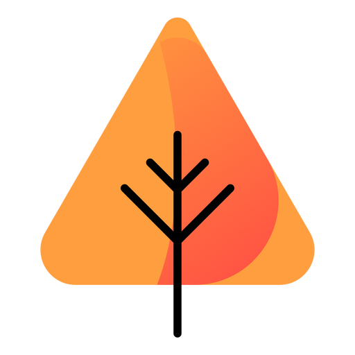Tree autumn icon Transparent PNG