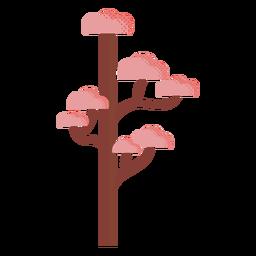 Ilustración de otoño de árbol